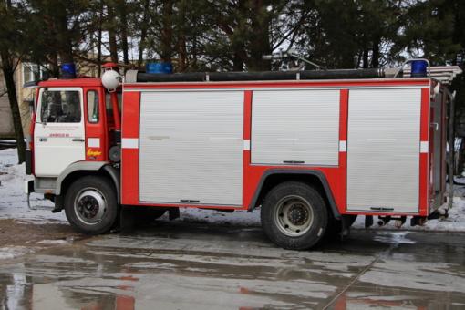 Atvirų durų dienos pas ugniagesius gelbėtojus!