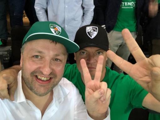 """""""Žalgirį"""" Eurolygoje palaikantis A. Guoga traukiasi iš """"Ryto"""" prezidento posto"""