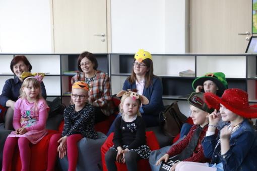 Šeimos diena bibliotekoje – kelionė į stebuklingą pasakų pasaulį