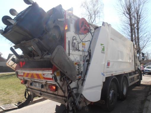 Atliekų konteineriai Panevėžyje bus švaresni