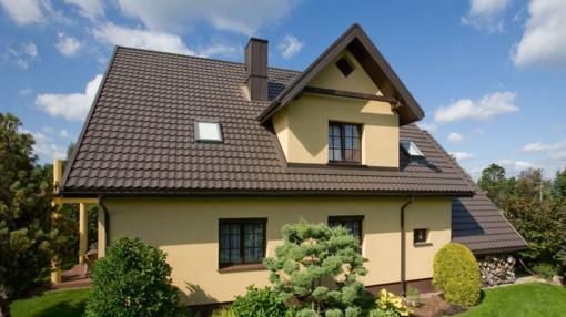 Plieninė stogo danga: mitai ir realybė
