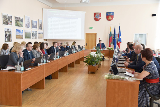 Svarbūs sprendimai Tarybos posėdyje