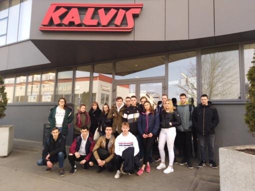 Simono Daukanto gimnazijos mokiniai susipažino su karjeros galimybėmis Šiauliuose