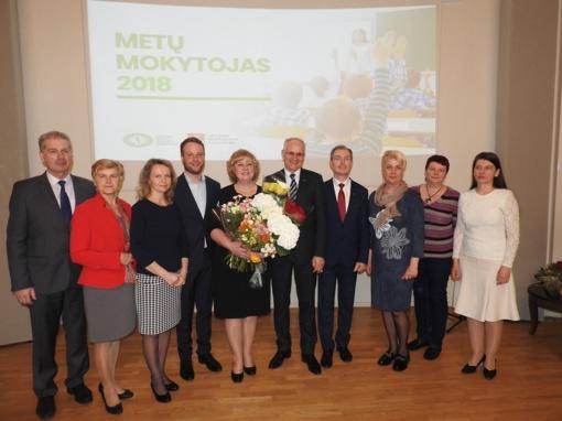 Ignalina džiaugiasi Metų mokytoja