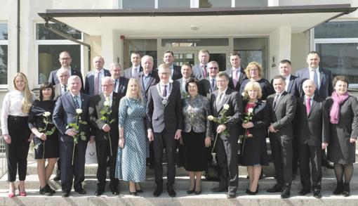 II atkurtos Nepriklausomybės 100-čio savivaldybės taryba pradėjo darbą