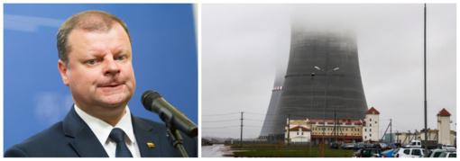 S. Skvernelis priima Minsko siūlymą derėtis dėl bendros sistemos stebėti Astravo AE