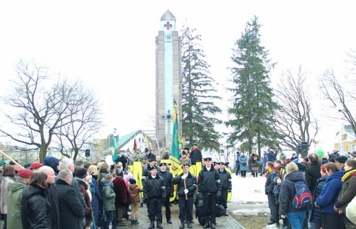 Šiaulių meras: turime puikią vietą Laisvės šventėms rengti