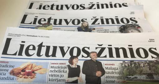 """Išleistas paskutinis """"Lietuvos žinių"""" numeris"""