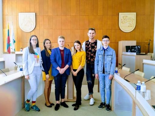 Jaunimas išsirinko atstovus į Raseinių rajono savivaldybės jaunimo reikalų tarybą