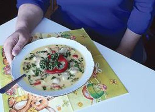 Koldūnų sriuba pagal gargždiškę Jūratę Žutautienę