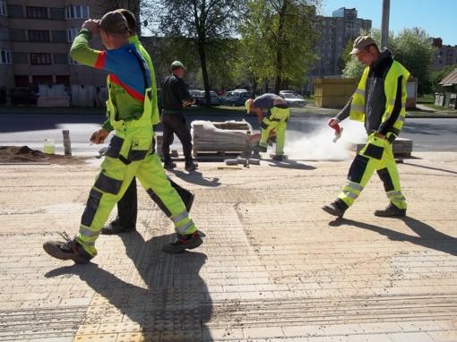 Nesilaikant darbo saugumo taisyklių, gali užklupti nelaimė
