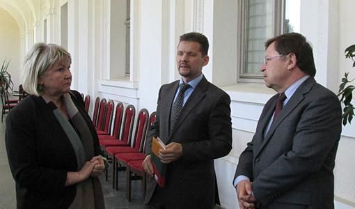 Pasitarimas dėl tarptautinės baltų vienybės dienos Biržuose