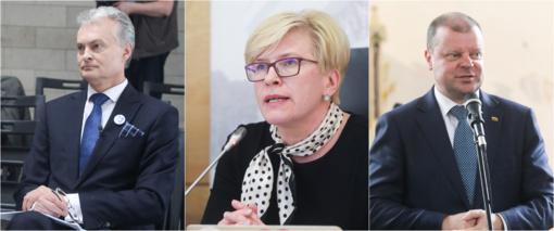 Lažybų kontorų favoritų trejetas rinkimuose – G. Nausėda, I. Šimonytė, S. Skvernelis