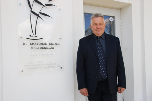 Prezidento A. Smetonos rezidencijoje savo veiklą pradeda naujas patalpų nuomininkas