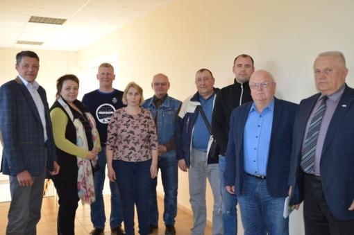 Sieks glaudesnio ryšio su ūkininkais ir įvairiomis institucijomis