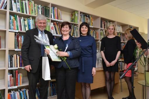 Apdovanoti rajono bibliotekų geriausi Metų skaitytojai