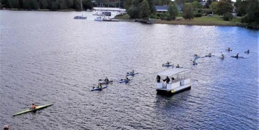 Didžiulio (Daugų) ežere vėl riaumos vandens motociklai?
