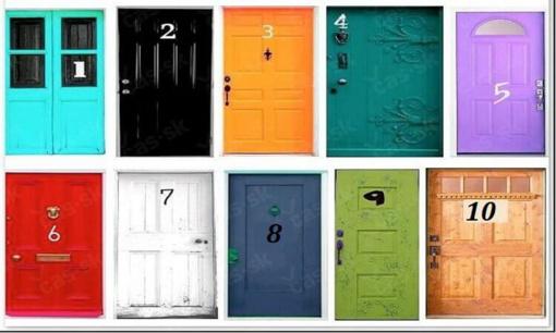Pasirinkite duris ir pažinsite save