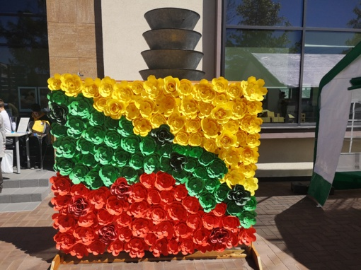 Birštoniečiai kūrybiškomis veiklomis paminėjo Europos dieną