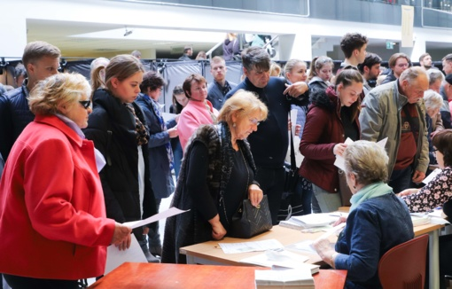 Išankstinio balsavimo dienomis pilietinę valią jau pareiškė 5,63 proc. rinkėjų