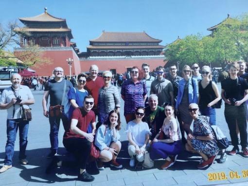 Mažeikių vardas skambėjo ir Kinijoje