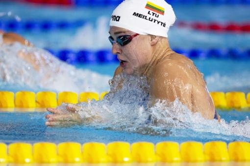 Buvęs R. Meilutytės treneris: plaukikė nebesitreniruoja nuo gruodžio