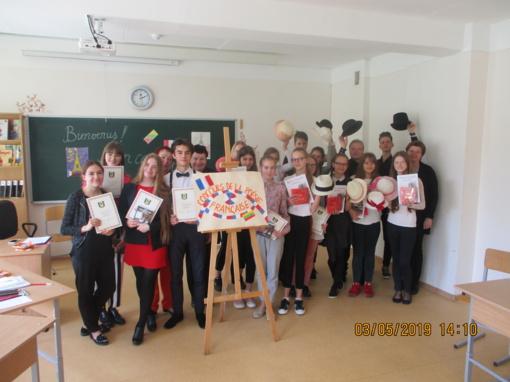 Apskrities raiškiojo skaitymo konkursas prancūzų kalba