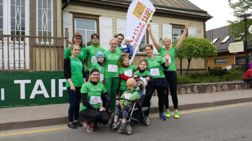 """""""Trakų pusmaratonyje"""" – ir su organų donorystės žinia"""