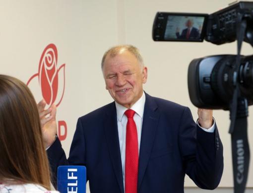 V. Andriukaitis antrajame prezidento rinkimų ture neketina remti jokio kandidato