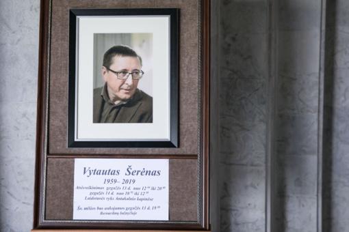 V. Šerėno atminimą galima pagerbti Vilniaus laidojimo rūmuose