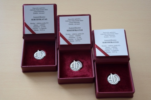 """Panevėžio regiono bibliotekų darbuotojų metų nominacija """"Ad astra"""""""