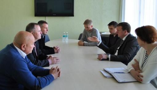 ŠAFF valdyba susitiko su naujai išrinktu Joniškio rajono meru