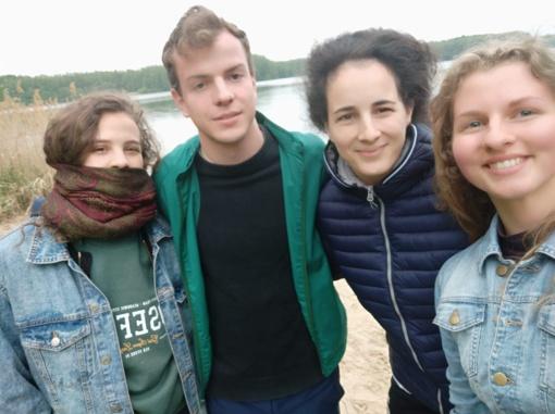 Simono Daukanto gimnazistė Gabija Ulinskaitė dalyvavo savanoriams skirtame seminare Berlyne