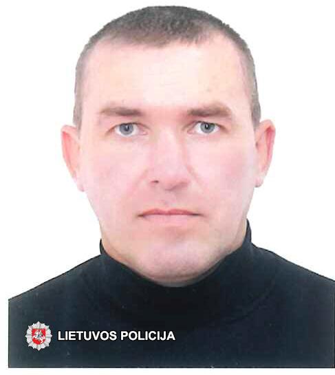 Policija prašo visuomenės pagalbos ‒ ieškomas dingęs be žinios Alech Zhaliazniak
