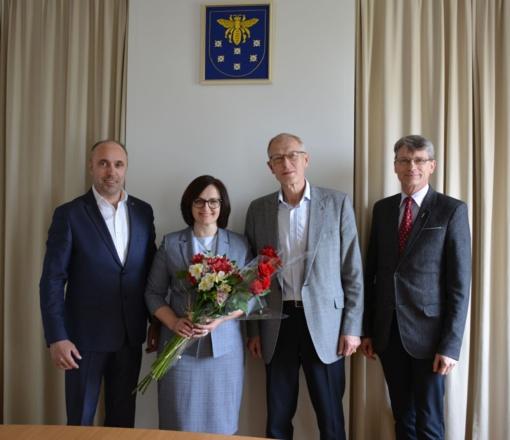 Varėnos rajono savivaldybės administracijos direktoriaus pavaduotoja paskirta Vilma Miškinienė