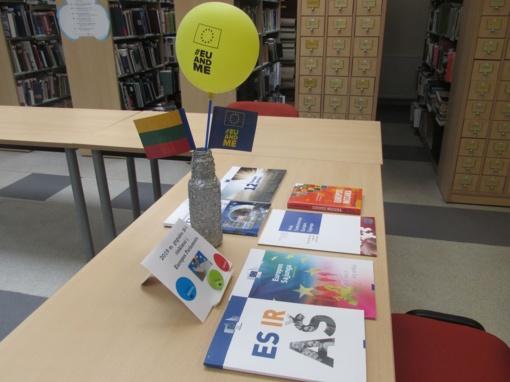Miesto bibliotekoje diskutuota apie daugialypį Europos identitetą