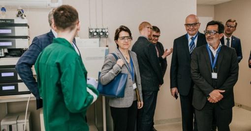 """""""Roquette"""" Panevėžyje atidarė vieną moderniausių analitinių tyrimų laboratorijų Šiaurės Europoje"""