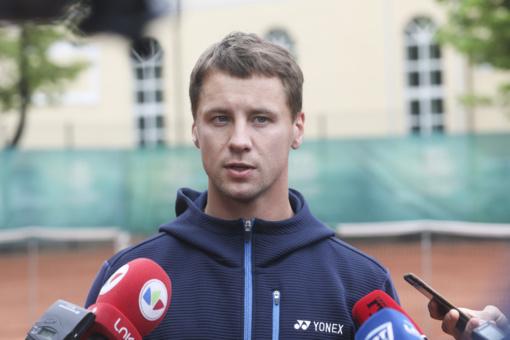 Tenisininkas R. Berankis: tikiuosi šiemet pasiekti rekordinę vietą ATP reitinge