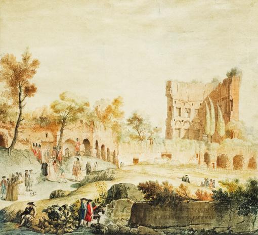 Vilniaus aukciono pažiba – ypatinga P. Smuglevičiaus akvarelė, o intriga – brangiausiai įkainotas A. Samuolio paveikslas