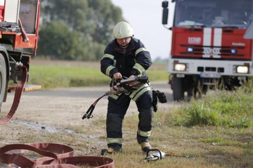 Miškuose gaisrų pavojus dar didelis
