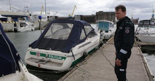 Policininkus į jūrą palydėdavo ruonis