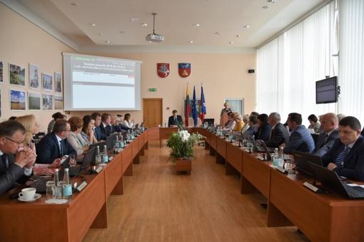 Tarybos posėdžio aktualijos