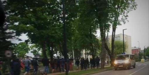 """""""Dainavą"""" skriaudė Vilniaus, """"Dzūkiją"""" – Kauno žalgiriečiai, jų fanai konfliktavo su """"Dzūkų tankais"""""""