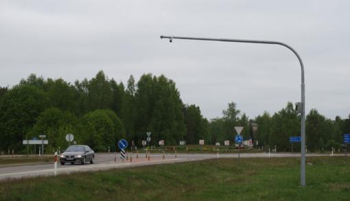 Molėtų miesto prieigose įrengtos išmaniosios vaizdo kameros