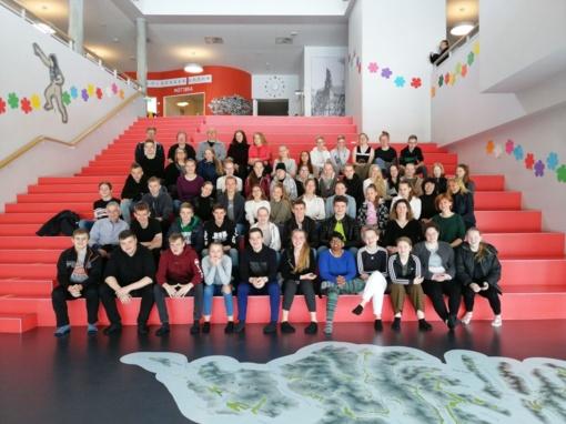 Senamiesčio mokykla įgyvendino dar vieną tarptautinį projektą