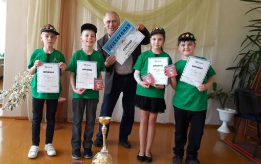 """Senamiesčio mokykloje vyko rajoninis """"Šviesoforo"""" varžybų etapas"""