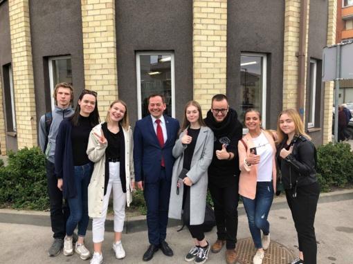 Druskininkų jaunimo atstovai lankėsi Nacionalinėje Europos dienos šventėje Alytuje