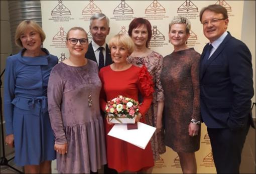 """""""Ad astra"""" nominacija Audronei Berezauskienei"""