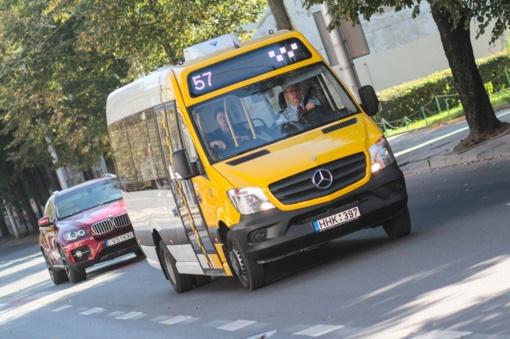 """""""Kauno autobusai"""" už beveik 3 milijonus eurų perka 30 naujų mikroautobusų"""