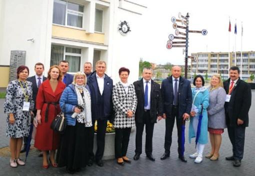 Plėtojami tarptautiniai ryšiai – galimybė naujai pažvelgti į savo rajoną ir pasidalyti patirtimi